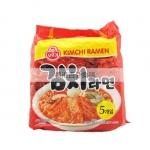 香港代购 韩国不倒翁泡菜面(泡菜味) 120g