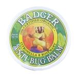香港代购 BADGER有机防蚊虫膏(盒装)户外旅游防蚊 无害 驱蚊 草本 有機防蚊蟲膏