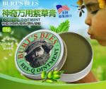 香港代购 美国Burt's Bees小蜜蜂紫草膏15g 婴儿童止痒紫草膏搭配宝宝驱蚊虫用止痒肿膏