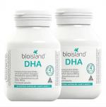 香港代购 澳洲Bio islandDHA婴幼儿宝宝海藻油 孕妇可用 脑黄金鱼油60粒装