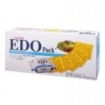 香港代购 EDO Pack原味苏打饼干 172g 韩国巨浪大切海太