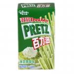 香港代购 格力高 PRETZ百力滋 抹茶香草味 45克 支持货到付款